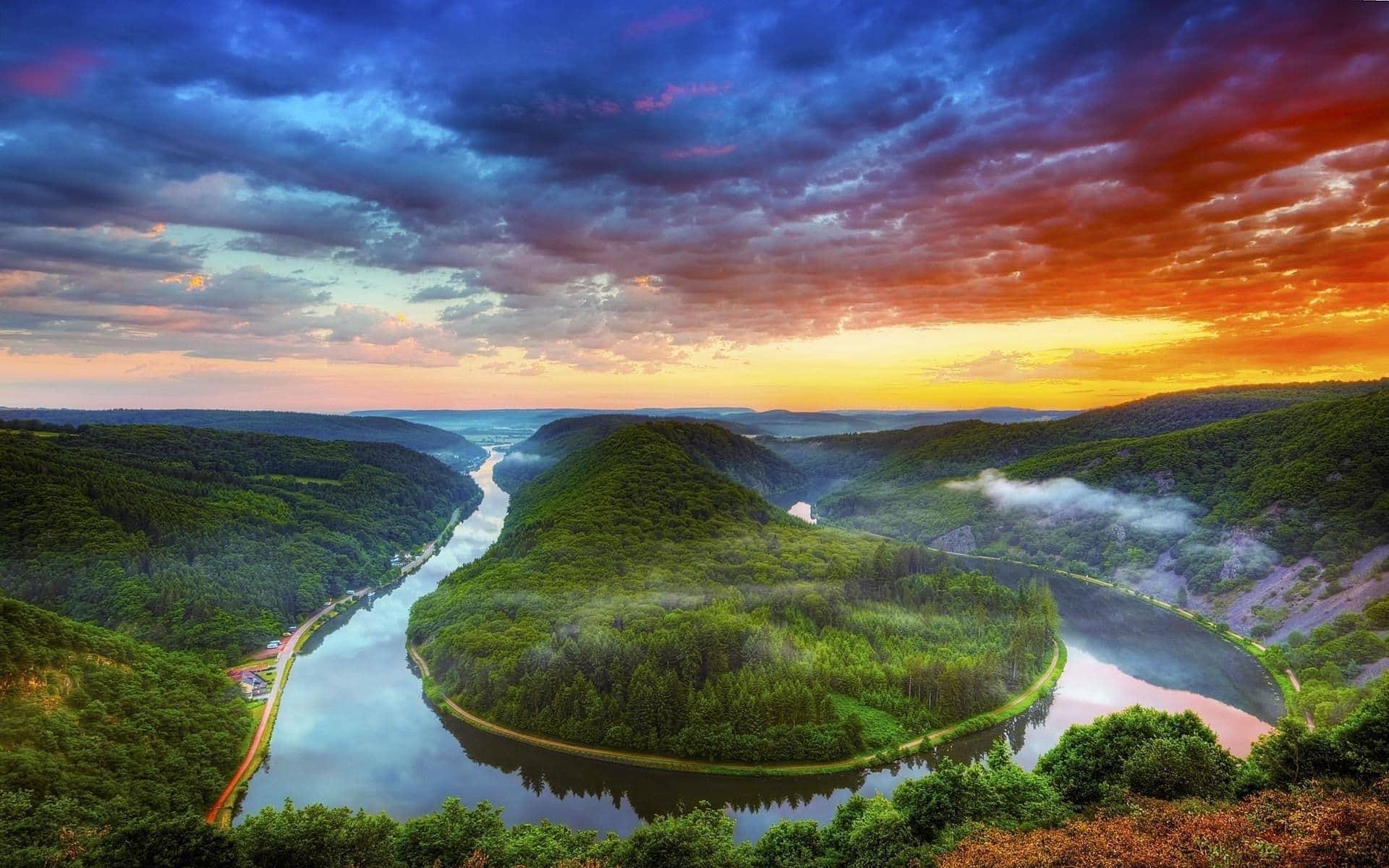 river dream meaning, dream about river, river dream interpretation, seeing in a dream river