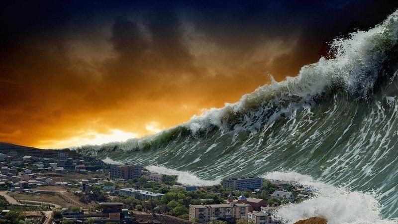 tsunami dream meaning, dream about tsunami, tsunami dream interpretation, seeing in a dream tsunami